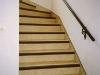 Treppe saniert und mit PVC-Belag belegt